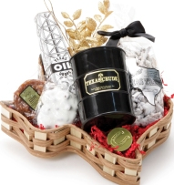 Texas Black Gold Basket