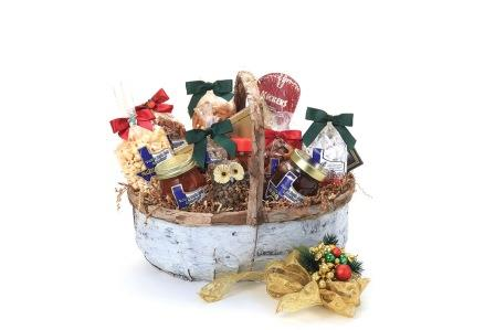 Birch Wood Basket