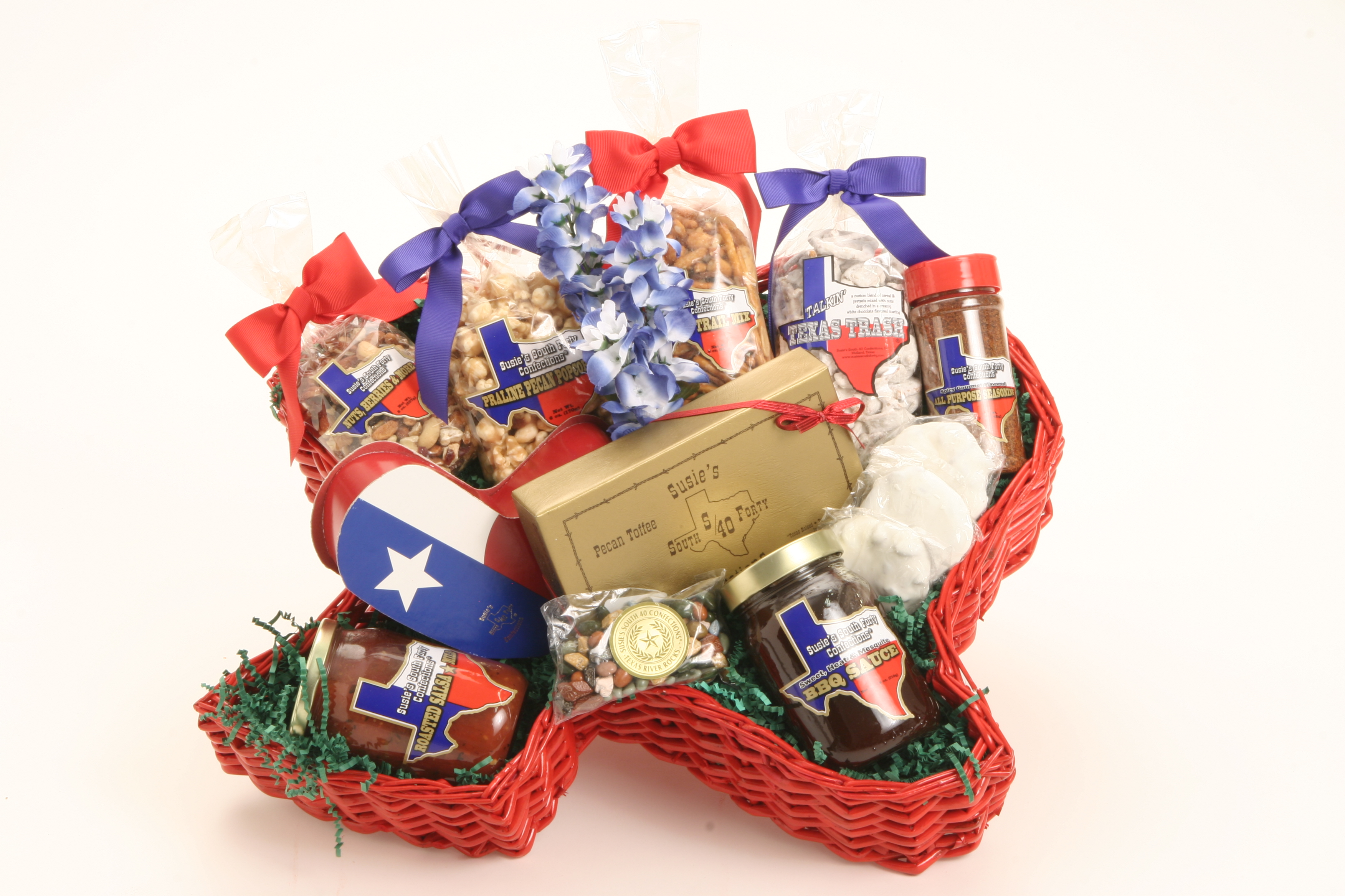 Susie's South Forty Texas Basket