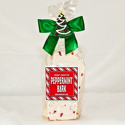 Peppermint Bark Red 8 oz bag