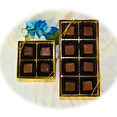 Rich Decadent Fudge Richey� in Our 4pc or 8pc gold box