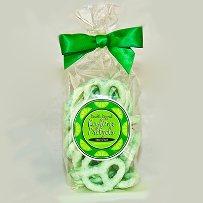 Key Lime Pretzels 7oz bag