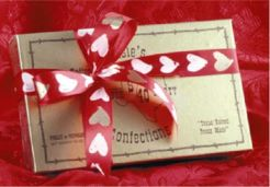Pecan Toffee Gold Box Valentine 2 lbs.